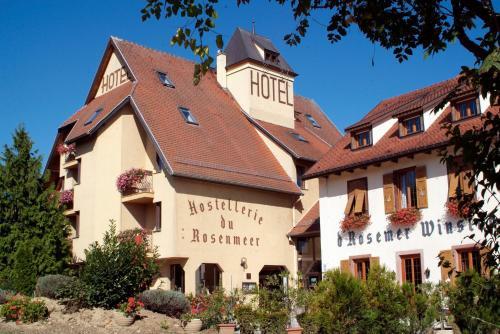 Hostellerie du Rosenmeer : Hotel near Scharrachbergheim-Irmstett