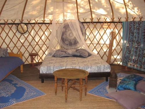 Camping Mille Étoiles : Guest accommodation near Le Garn