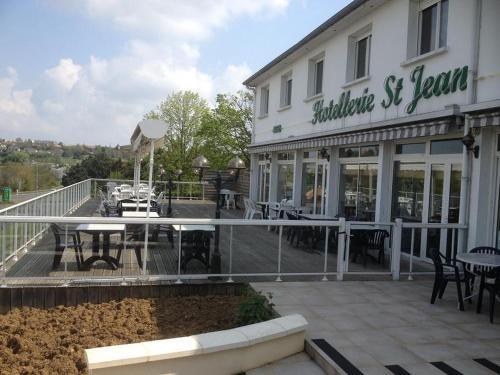 Hôtellerie Saint Jean : Hotel near Saint-Jouin-de-Marnes