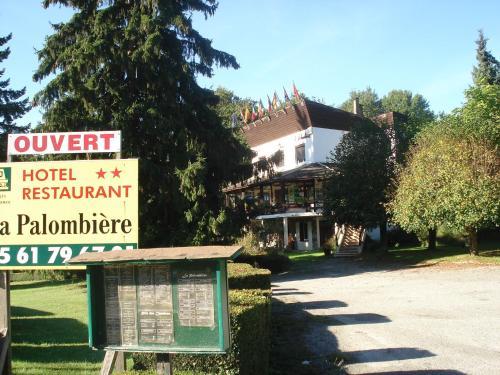 Hôtel Auberge de La Palombière : Hotel near Loures-Barousse