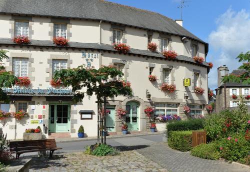 Au Relais du Porhoet : Hotel near Saint-Léry