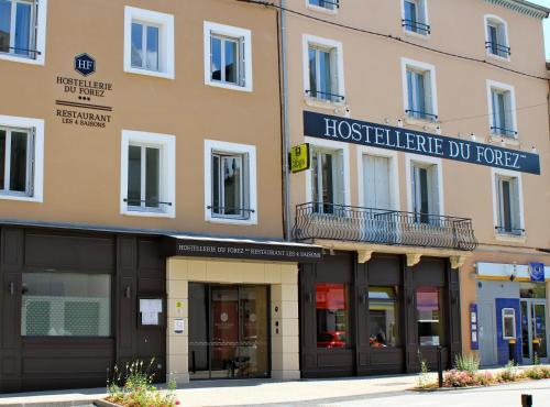 Hostellerie du Forez : Hotel near Saint-Christo-en-Jarez