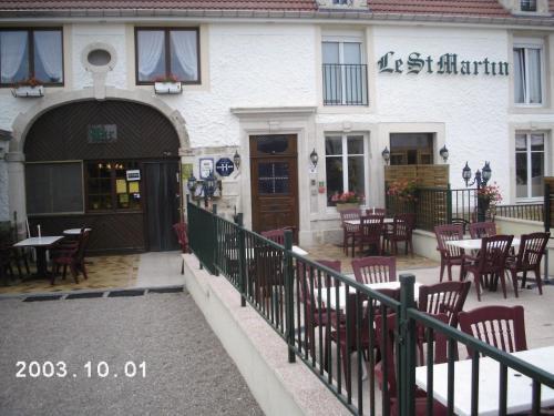 Hotel Saint Martin : Hotel near Romain-aux-Bois