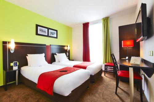 Kyriad Design Enzo Metz Sud Augny : Hotel near Lessy