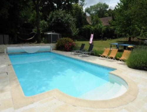 Le Jardin des Roches : Bed and Breakfast near Villeneuve-sur-Auvers