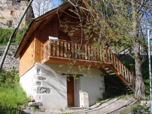 Gîtes du Presbytère : Apartment near Saint-Dalmas-le-Selvage
