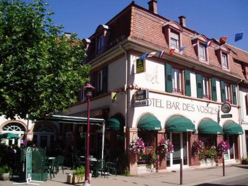 Hôtel Bar Des Vosges : Hotel near Soultzeren