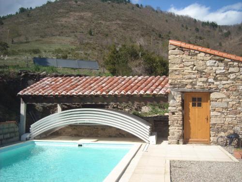 Mas Taillet Le Camelia : Guest accommodation near Lamanère