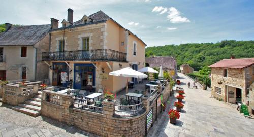 Hôtel de L'Abbaye : Hotel near Coly