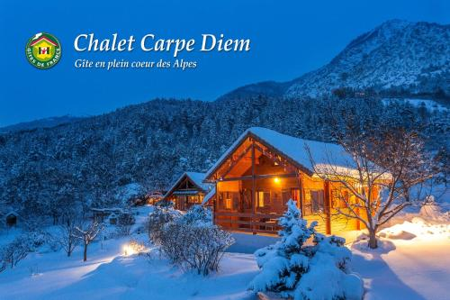 Chalet Carpe Diem : Guest accommodation near La Bâtie-Vieille