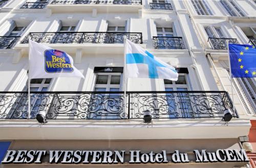 Best Western Hotel du Mucem : Hotel near Marseille 16e Arrondissement