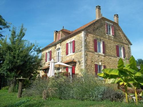 Ferme de Lagrave : Guest accommodation near Marnac