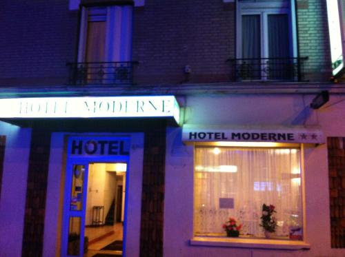 Hôtel Moderne : Hotel near Saint-Denis