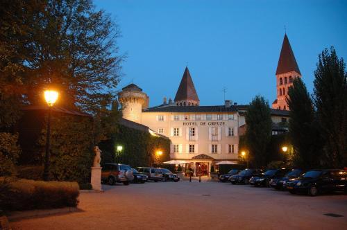 Hôtel & Spa Greuze : Hotel near Chapaize