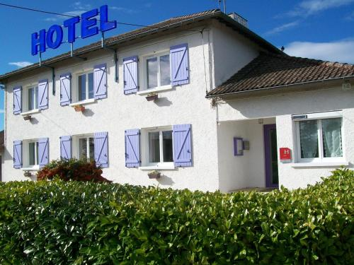 Hotel au Charme du Levat : Hotel near Lhospitalet