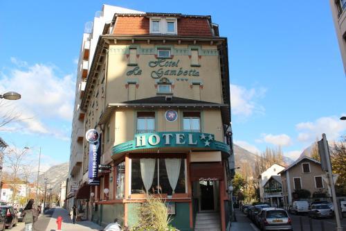 Hotel The Originals Grenoble Gambetta (ex Inter-Hotel) : Hotel near Grenoble
