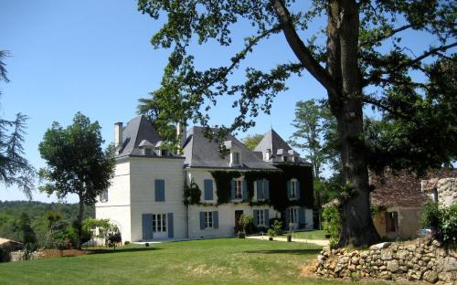 Domaine de La Fauconnie : Guest accommodation near Saint-Félix-de-Villadeix