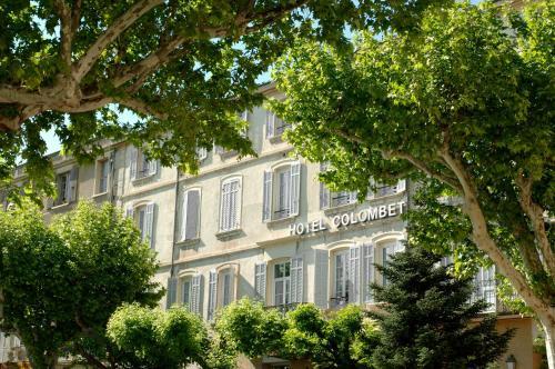 Hôtel Colombet : Hotel near Aubres