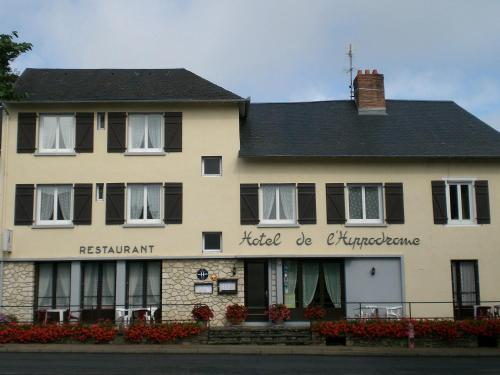 Hotel de L'Hippodrome : Hotel near Lubersac