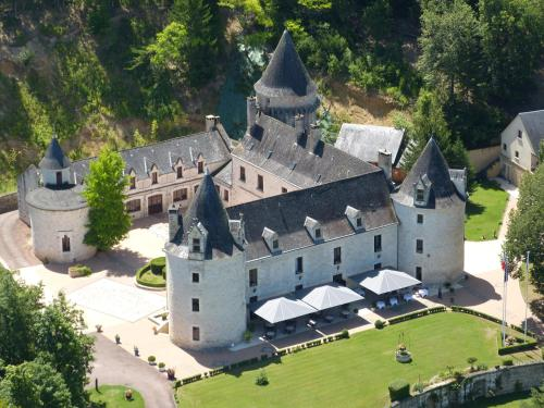Château la Fleunie - Hôtel et Restaurant : Hotel near Coly
