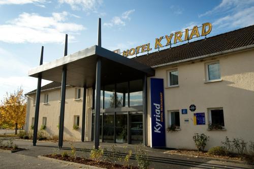 Kyriad Auxerre Appoigny : Hotel near Poilly-sur-Tholon