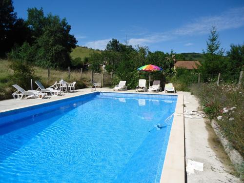 Domaine Thomson : Bed and Breakfast near Rieucros