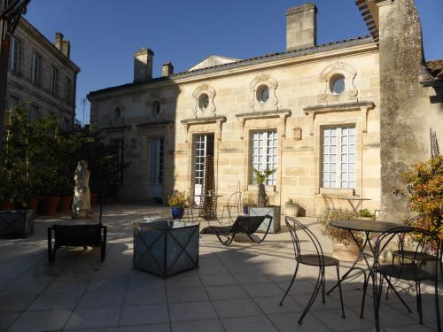 La Villa Premayac : Bed and Breakfast near Saint-Genès-de-Blaye