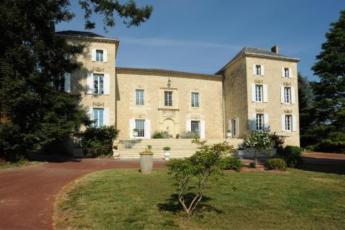 Château Villotte : Bed and Breakfast near Mérignas