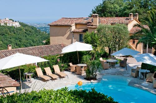 La Colline de Vence : Bed and Breakfast near Conségudes