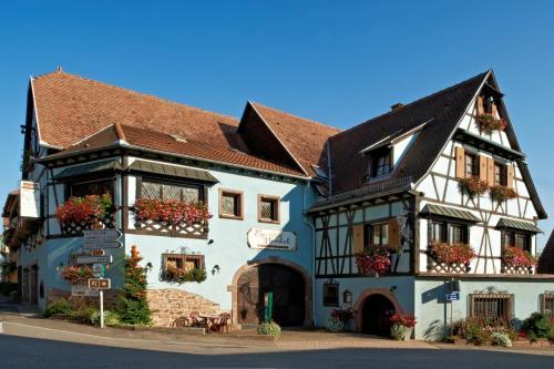 Hotel Restaurant Faller Emmebuckel : Hotel near Sermersheim