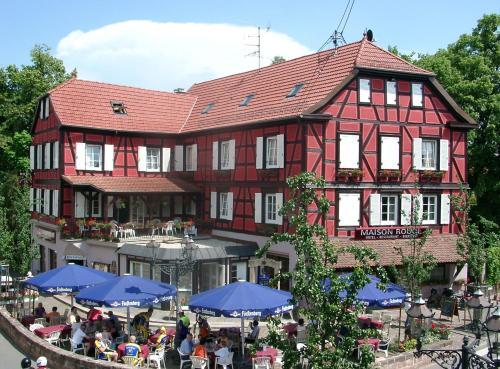 A la Maison Rouge Hôtel & Restaurant : Hotel near Heiligenstein