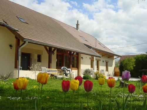 Chambres d'hôtes de la Motte : Bed and Breakfast near Saint-Bonnet-en-Bresse