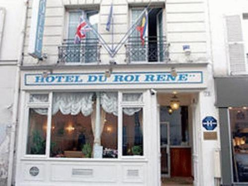 Hôtel Roi René : Hotel near Paris 17e Arrondissement