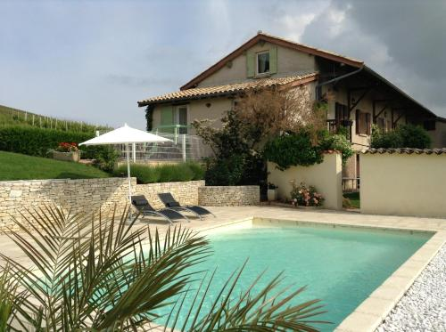 La Croix de Saburin : Bed and Breakfast near Odenas