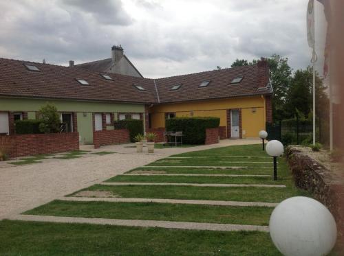 Gite des Jardins du Moulin : Guest accommodation near Broussy-le-Grand