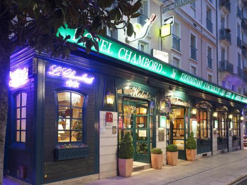 Hotel Chambord : Hotel near Saint-Priest-Bramefant