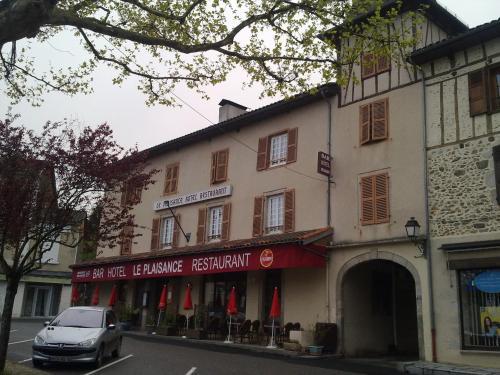 Hôtel Restaurant Le Plaisance : Hotel near Montredon
