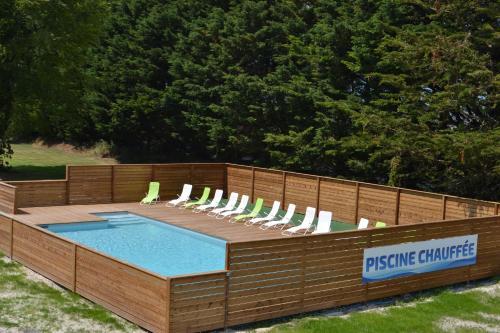 Domaine de l'Aumône : Guest accommodation near Cherrueix