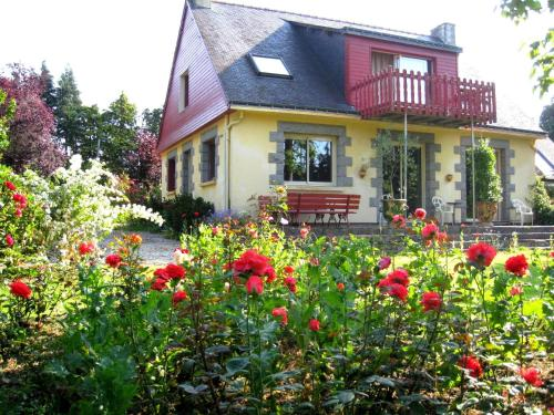Chambres d'Hôtes Saint Aignan : Bed and Breakfast near Kergrist