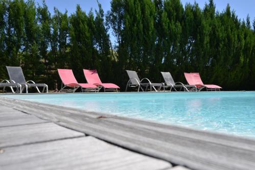 Domaine de Quittignan Brillette : Guest accommodation near Saint-Ciers-de-Canesse