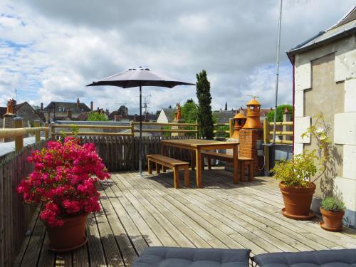 La Terrasse d'Octave : Guest accommodation near Faverolles