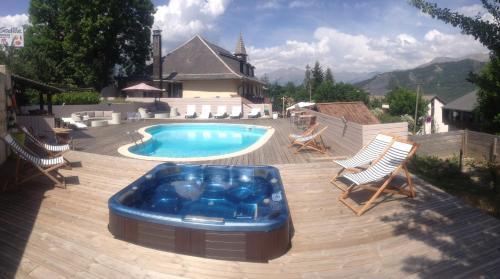 Le Prieuré : Hotel near Uvernet-Fours
