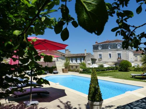Les Tuileries de Chanteloup : Guest accommodation near Boresse-et-Martron