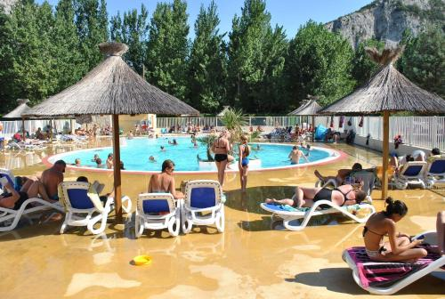 Camping le Pradal : Guest accommodation near Anduze