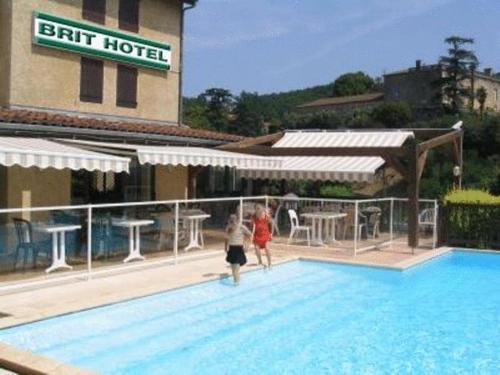Brit Hotel Vallee du Lot : Hotel near Soturac