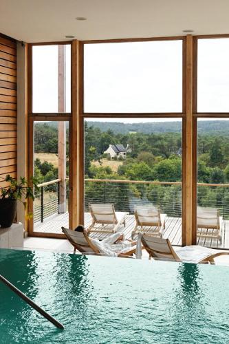 La Gree Des Landes - Eco-Hotel-Spa Yves Rocher : Hotel near Cournon