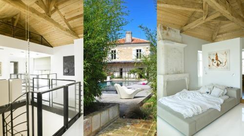 Domaine de la Fontchaudière : Guest accommodation near Saint-Yrieix-sur-Charente
