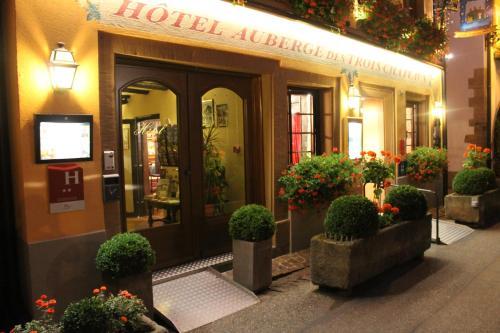 Auberge des Trois Châteaux : Hotel near Eguisheim