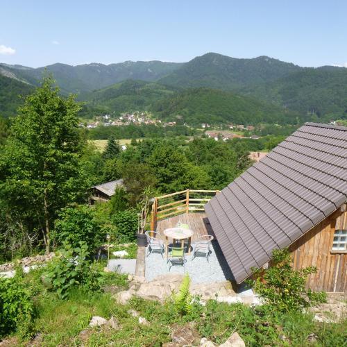 """Gîte """"La Bergerie""""- Chalet indépendant : Guest accommodation near Lauw"""