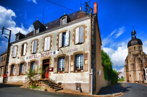 Hôtel du Berry : Hotel near Thevet-Saint-Julien